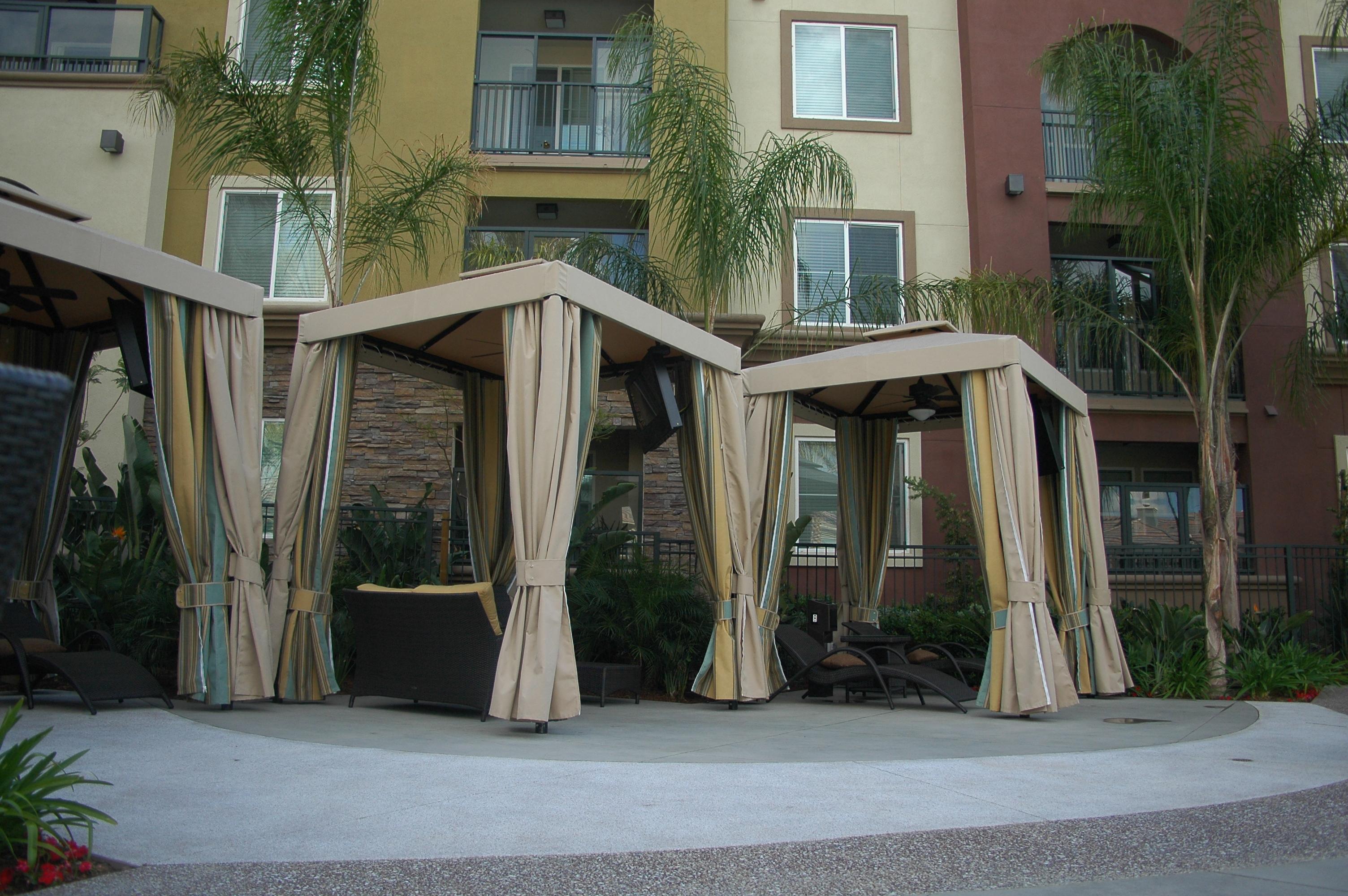 The Cancun Cabana Resort Cabanas