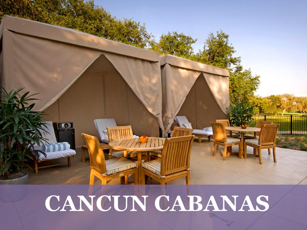 Cancun Commercial Cabana