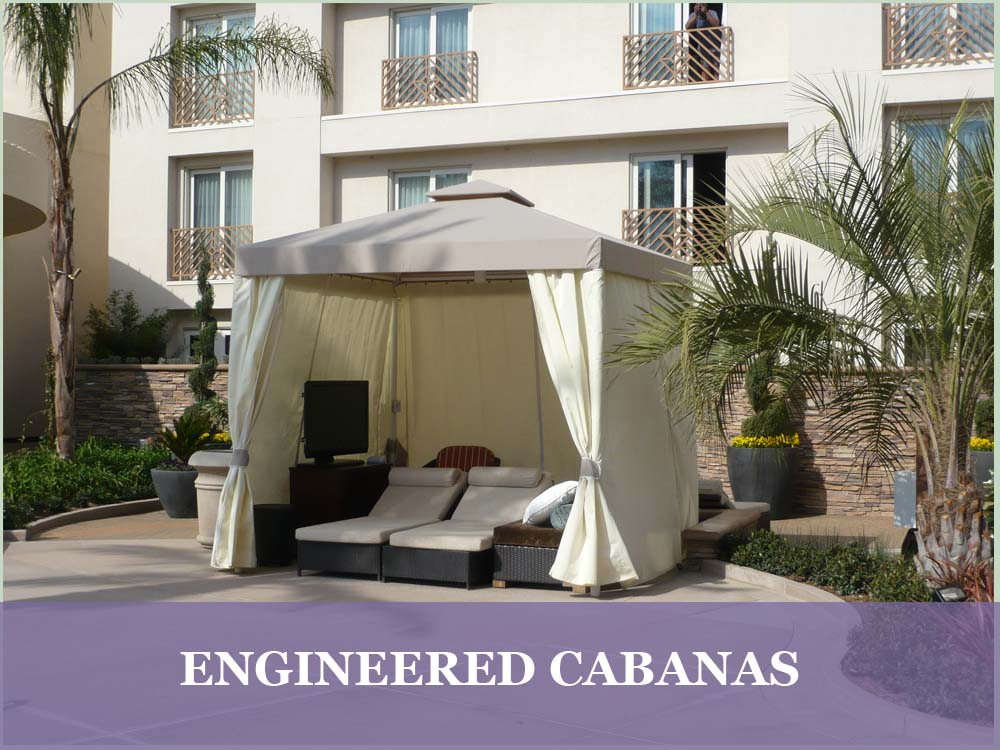 Engineered Cabanas | Resort Cabanas
